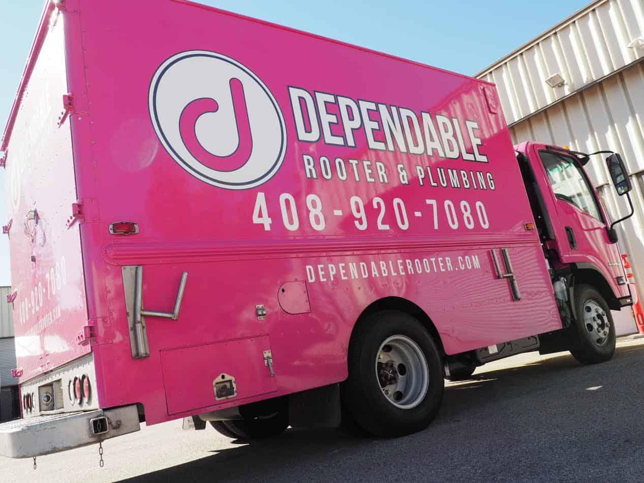Dependable Rooter & Plumbing Truck