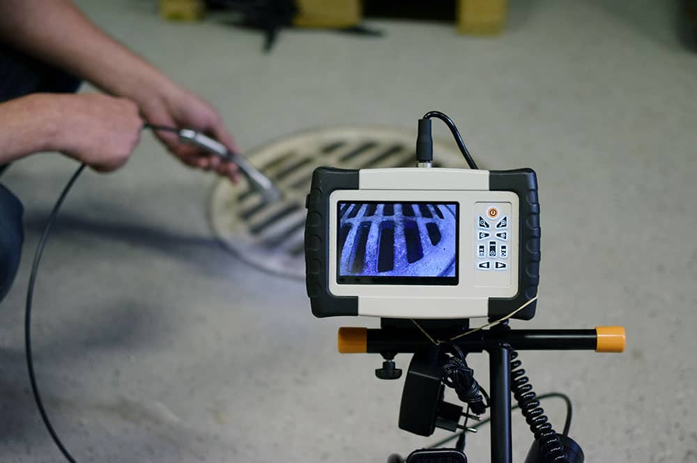 video inspection of clogged drain cleaning services - Dependable Rooter and Plumbing